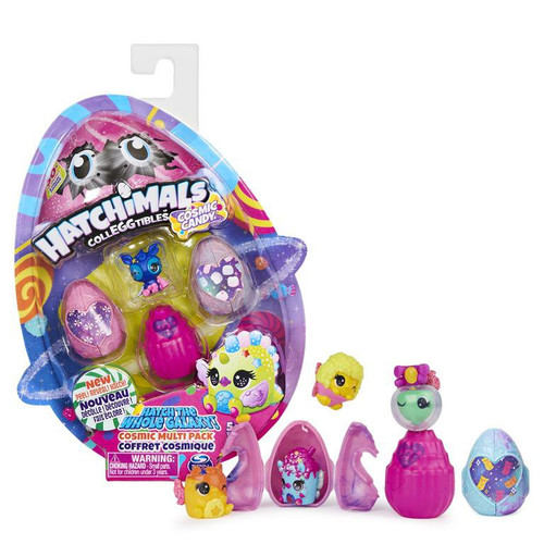 Hatchimals Colleggtibles Season 8 Cosmic Candy Mystery 4-Pack