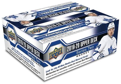 NHL 2019-20 Series 2 Hockey Trading Card RETAIL Box [24 Packs]