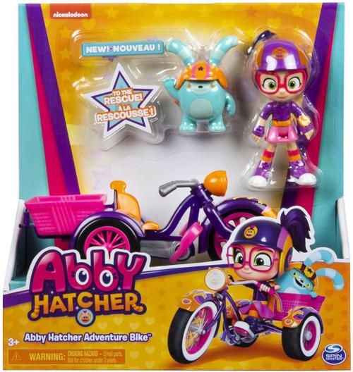 Abby Hatcher Adventure Bike 6-Inch Playset [Includes 4 Figures!]
