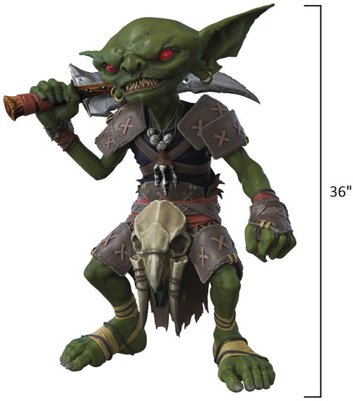 NECA Pathfinder Goblin Life-Size Foam Replica [36 Inches tall!] (Pre-Order ships January)
