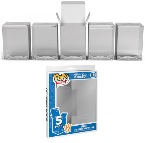 Funko POP! Foldable Protector 5-Pack [UV Protection!]