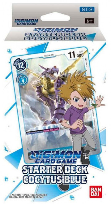 Digimon Card Game Cocytus Blue Starter Deck ST-2 (Pre-Order ships February, 2021)