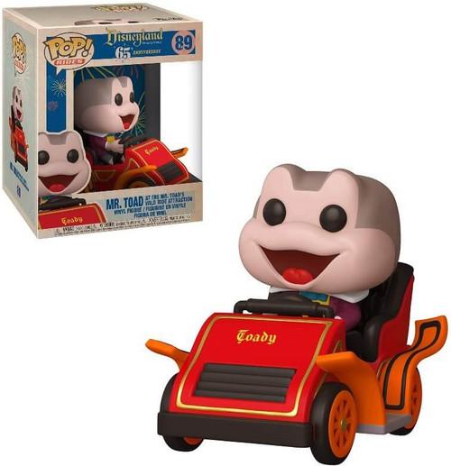 Funko Disneyland 65th Anniversary POP! Rides Mr. Toad In Car Vinyl Figure #89 (Pre-Order ships February)