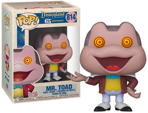 Funko Disneyland 65th Anniversary POP! Disney Mr. Toad with Spinning Eyes Vinyl Figure #814