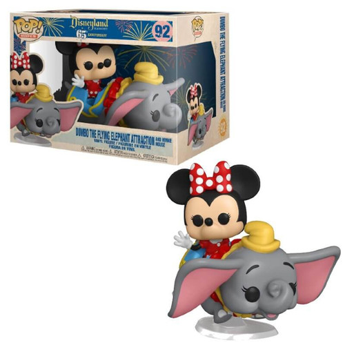 Funko Disneyland 65th Anniversary POP! Rides Dumbo the Flying Elephant Attraction with Minnie Mouse Vinyl Figure #92