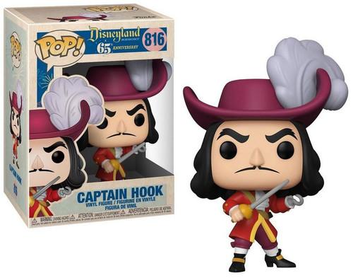 Funko Disneyland 65th Anniversary POP! Disney Captain Hook Vinyl Figure #816 [New Pose]