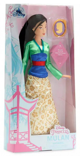 Disney Princess Classic Princess Mulan Exclusive 11.5-Inch Doll [with Pendant]