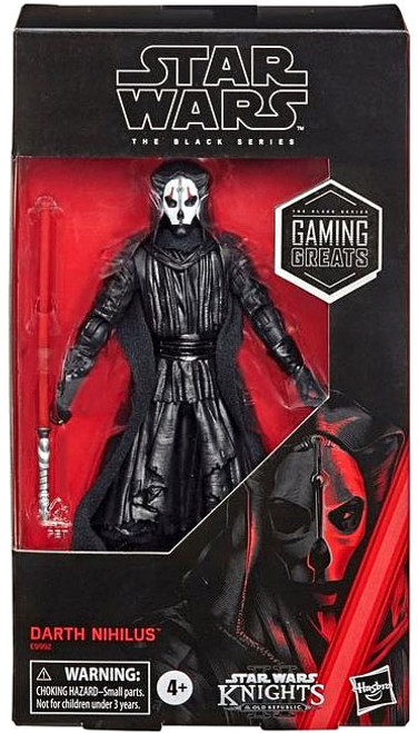 Star Wars Knights of the Old Republic Black Series Darth Nihilus Exclusive Action Figure [Gaming Greats] (Pre-Order ships November)