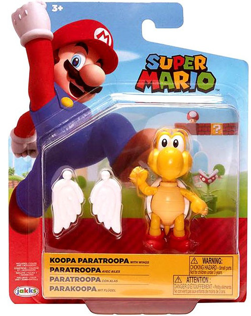 World of Nintendo Wave 20 Koopa Paratroopa Action Figure [RANDOM COLOR, with Wings]
