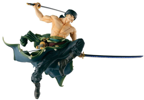 One Piece SCultures Big World Roronoa Zoro 6-Inch Collectible PVC Figure (Pre-Order ships February)
