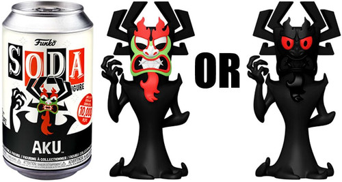 Funko Samurai Jack Vinyl Soda Aku Limited Edition of 10,000! Vinyl Figure [1 RANDOM Figure! Look For The Rare Chase!] (Pre-Order ships March)