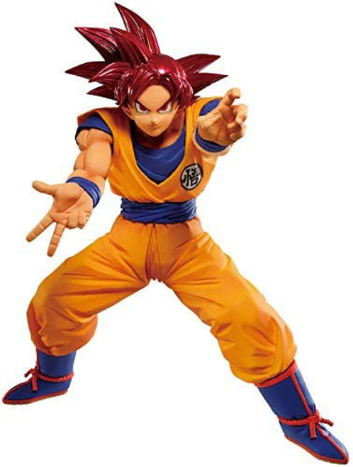 Dragon Ball Super Maximatic Super Saiyan God Goku 6-Inch Collectible PVC Figure (Pre-Order ships March)
