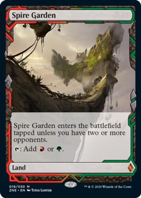 MtG Zendikar Rising Expeditions Mythic Rare Foil Spire Garden #19