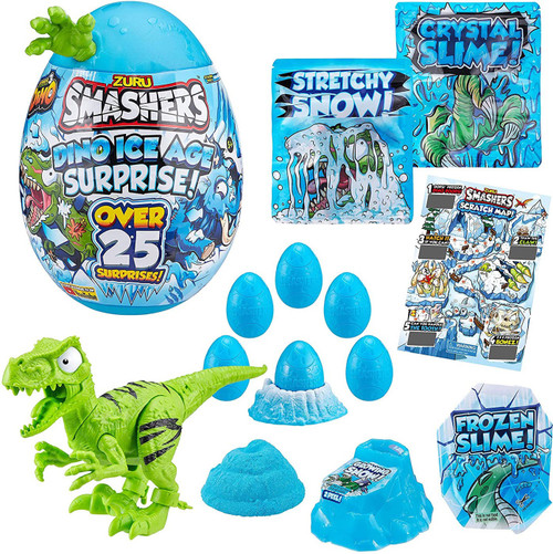 Smashers Series 3 Dino Ice Age Raptor EPIC Surprise! Mystery Egg (Pre-Order ships November)