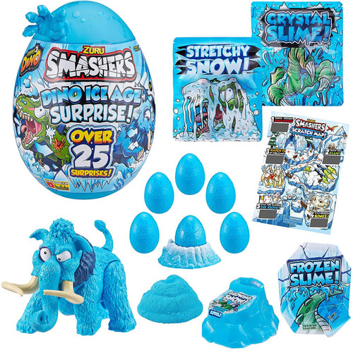 Smashers Series 3 Dino Ice Age Mammoth EPIC Surprise! Mystery Egg