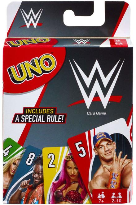 WWE Wrestling UNO Card Game