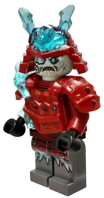 LEGO Ninjago Secrets of the Forbidden Spinjitzu Blizzard Warrior / Samurai Minifigure [Loose]