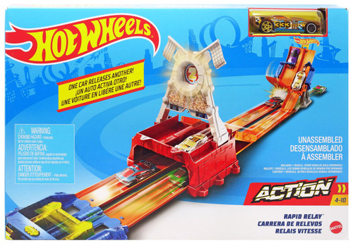 Hot Wheels Action Rapid Relay Track Set