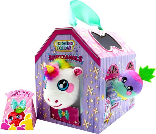 Squeezamals Unicorn Palace Plush Set