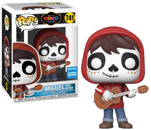 Funko Disney / Pixar Coco POP! Disney Miguel Exclusive Vinyl Figure #741 [with Guitar]