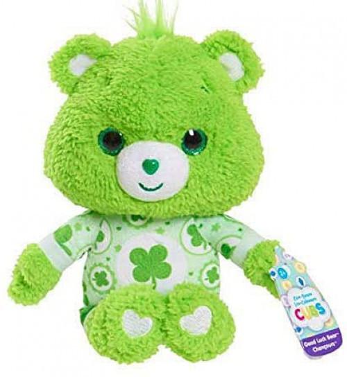 Care Bears Cubs Good Luck Bear 8-Inch Plush