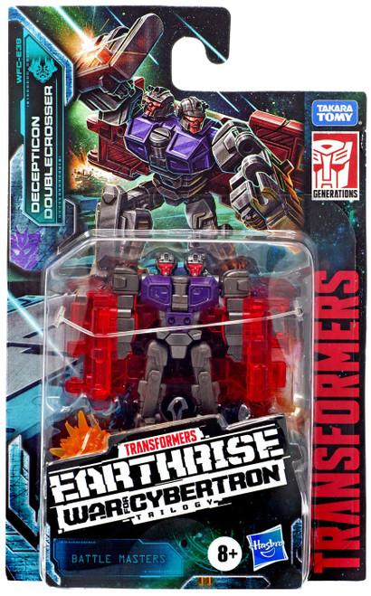 Transformers Generations Siege: War for Cybertron Trilogy Doublecrosser Battle Master Action Figure