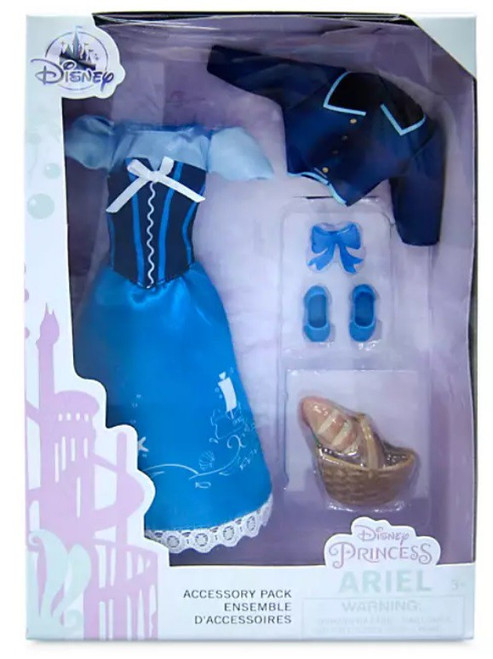 Disney Princess The Little Mermaid Classic Ariel Exclusive 11.5-Inch Accessory Pack (Pre-Order ships June)