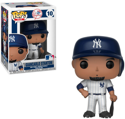 Funko MLB New York Yankees POP! Sports Baseball Giancarlo Stanton Vinyl Figure #10 [Damaged Package]