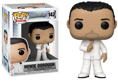 Funko Backstreet Boys POP! Rocks Howie Dorough Vinyl Figure [Damaged Package]