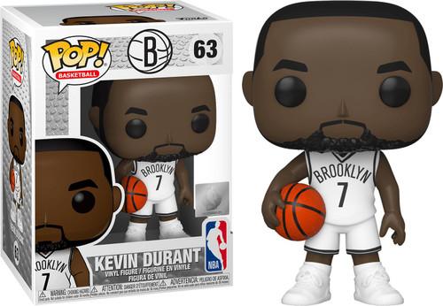 Funko NBA Brooklyn Nets POP! Sports Basketball Kevin Durant Vinyl Figure #63 [Damaged Package]