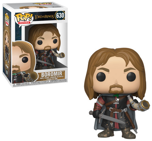 Funko Lord of the Rings POP! Movies Boromir Vinyl Figure #630 [With Sword, Damaged Package]