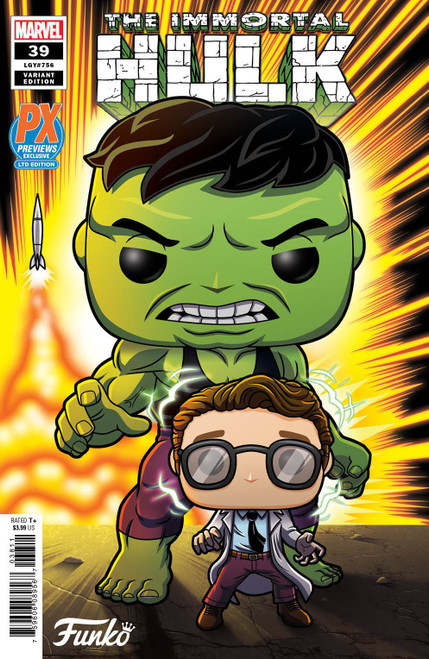 Funko Marvel #39 The Immortal Hulk Exclusive Comic Book [Funko Variant Cover] (Pre-Order ships January)