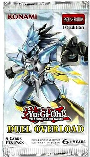 YuGiOh Duel Overload Booster Pack [5 Ultra Rares!]