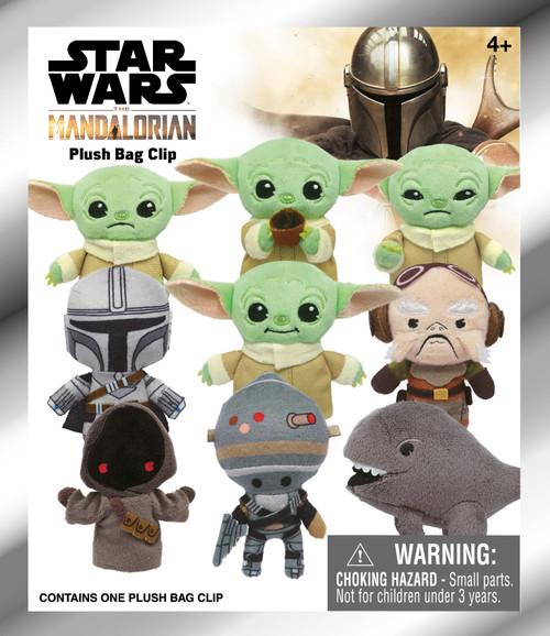 Star Wars The Mandalorian Plush Clip Mystery Pack [1 RANDOM Figure]