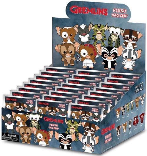 Gremlins Plush Clip Mystery Box [24 Packs]