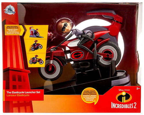 Disney / Pixar Incredibles 2 The Elasticycle Launcher Set Exclusive Vehicle [Damaged Package]