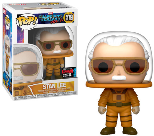 Funko Guardians of the Galaxy POP! Icons Stan Lee Vinyl Figure #519 [Astronaut, Damaged Package]