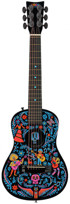 Disney / Pixar Coco Acoustic Guitar Exclusive [Black Version, Damaged Package]