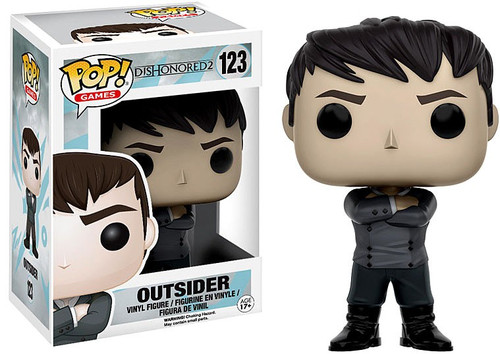 Funko Dishonored 2 POP! Games Outsider Vinyl Figure #123 [Damaged Package]