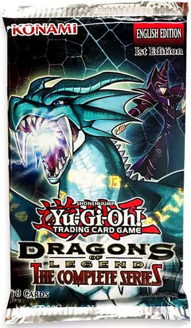 YuGiOh Trading Card Game Dragons of Legend The Complete Series Booster Pack [18 Cards]