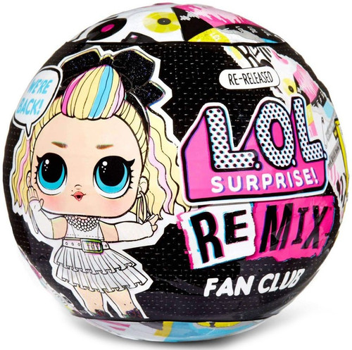 LOL Surprise Re-Released ReMix Fan Club Exclusive Mystery Pack [1 RANDOM Figure!]