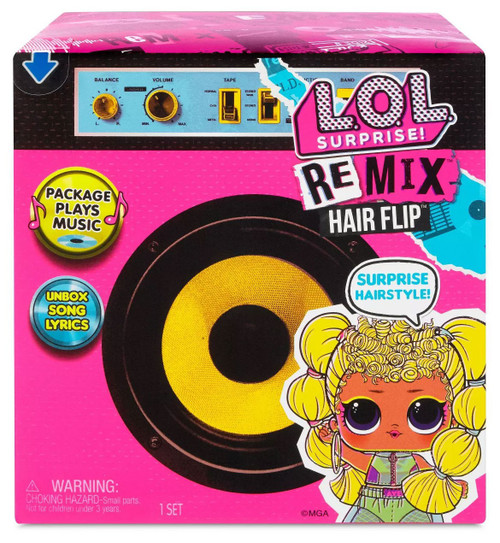 LOL Surprise ReMix Hair Flip Mystery Pack [1 RANDOM Figure!]
