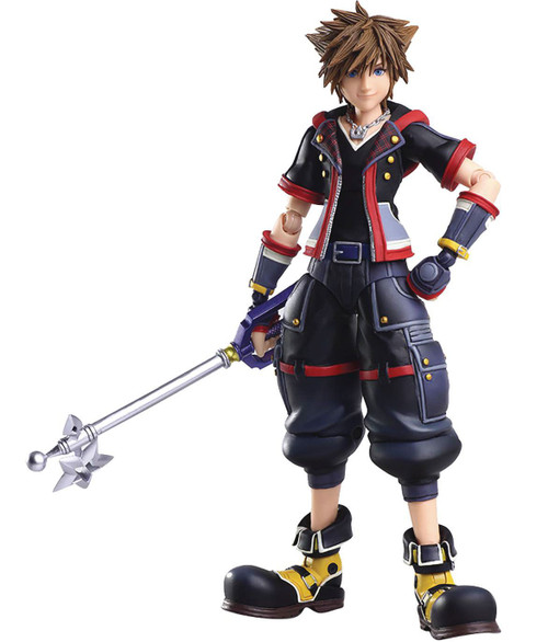 Disney Kingdom Hearts III Bring Arts Sora Action Figure [2nd Version] (Pre-Order ships July)