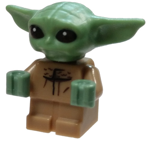 "LEGO Star Wars The Mandalorian The Child aka ""Baby Yoda / Grogu"" 1-Inch Minifigure [Loose]"