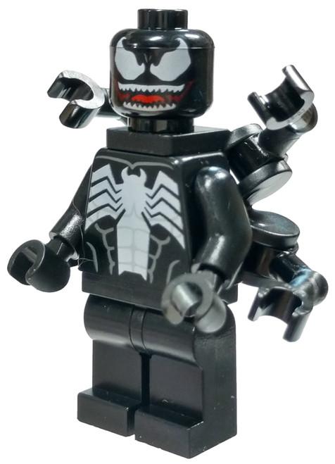 LEGO Marvel Super Heroes Spider-Man Venom Minifigure [Arms on Back Loose]