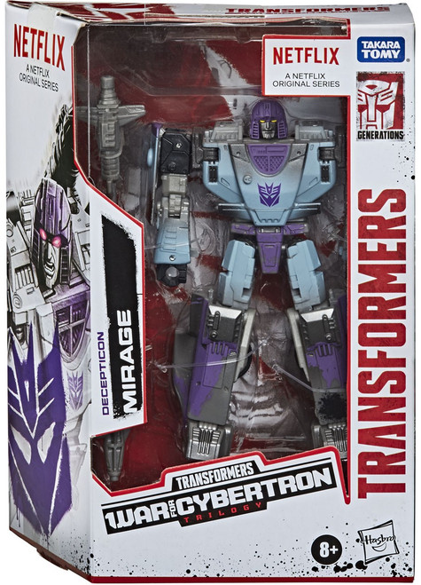 Transformers Generations War for Cybertron Mirage Exclusive Deluxe Action Figure [Netflix, Series-Inspired]