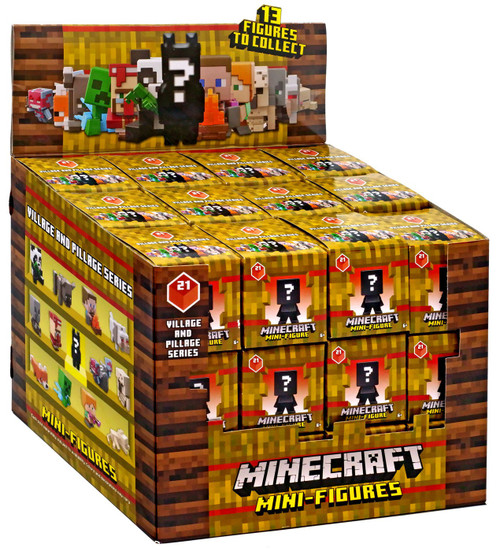 Minecraft Village & Pillage Series 21 Mystery Box [36 Packs]