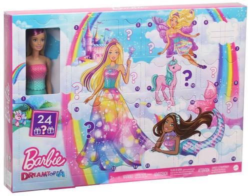 Barbie 2020 Dreamtopia Advent Calendar