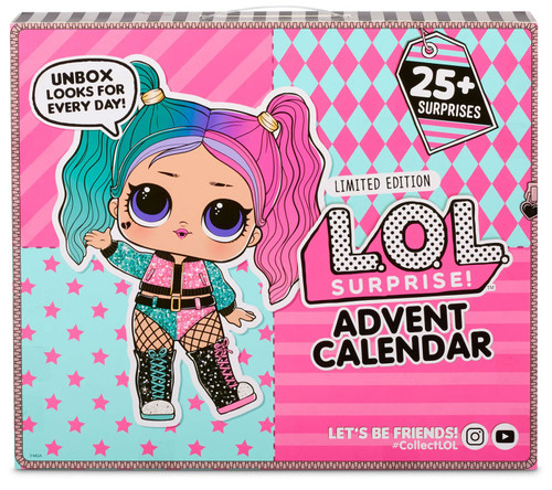 LOL Surprise 2020 LIMITED EDITION #OOTD Advent Calendar [Outfit of the Day, 25+ Surprises]