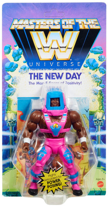 WWE Wrestling Masters of the WWE Universe The New Day Exclusive Action Figure